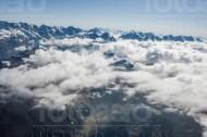 Gebirgskette im Kanton Bern in der Schweiz